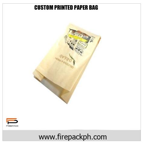 CUSTOM PRINTED PAPER BAG