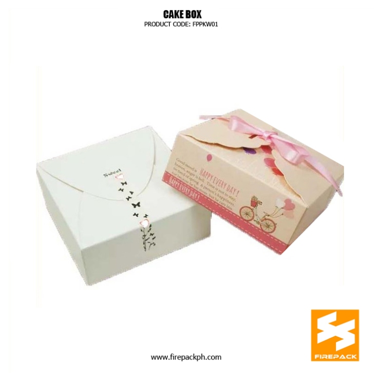 customized cake box supplier manila firepack supplier cebu cake design