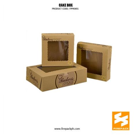 customized cake box supplier manila firepack supplier cebu