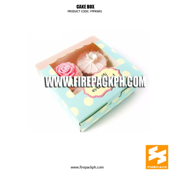customized cake box supplier manila firepack