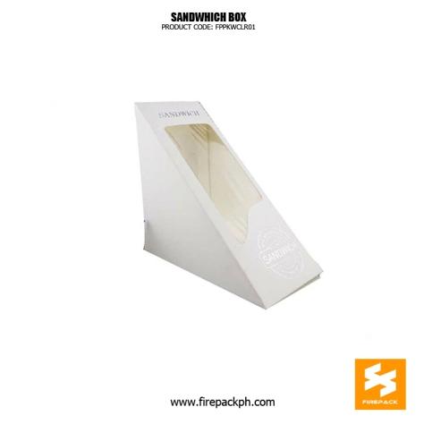 customized sandwhich box firepack packaging china