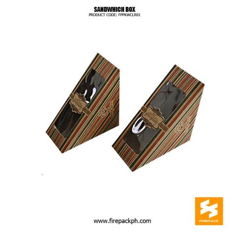 customized sandwhich box firepack supplier cebu