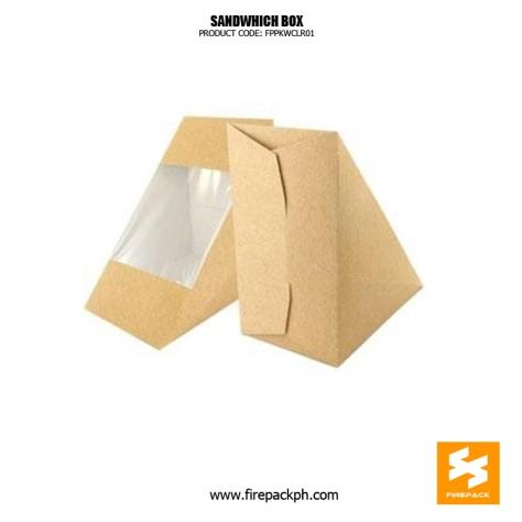 customized sandwhich box firepack supplier london