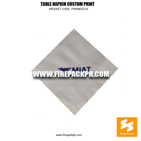 customized tissue with print manila supplier