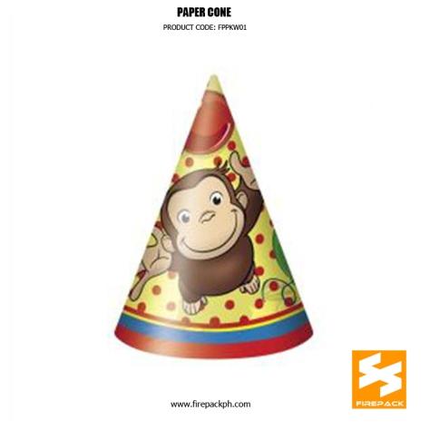 customzied paper cone supplier manila firepack manila