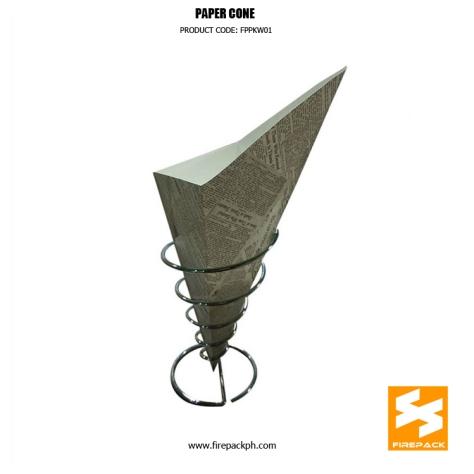 customzied paper cone supplier manila firepack
