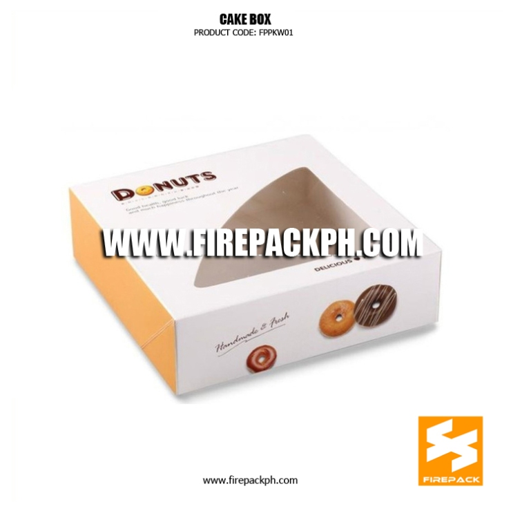 donut box supplier maker
