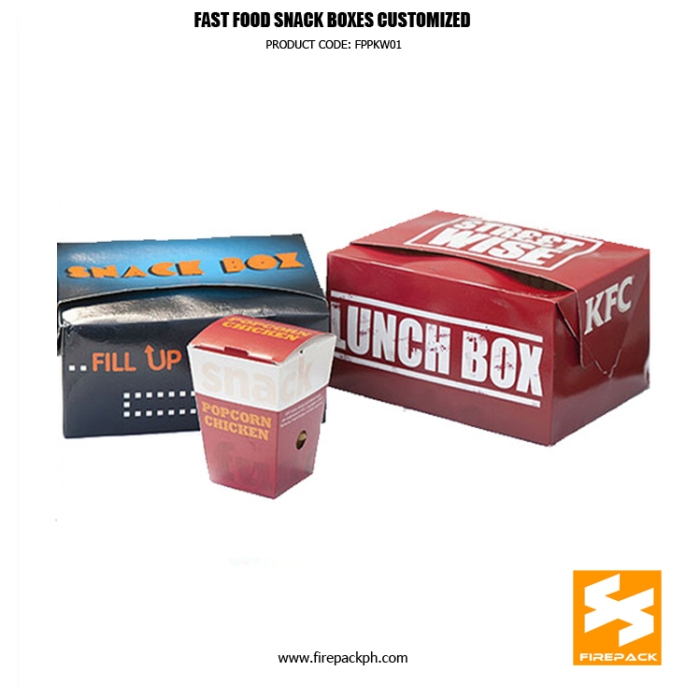 fast food box maker supplier manila