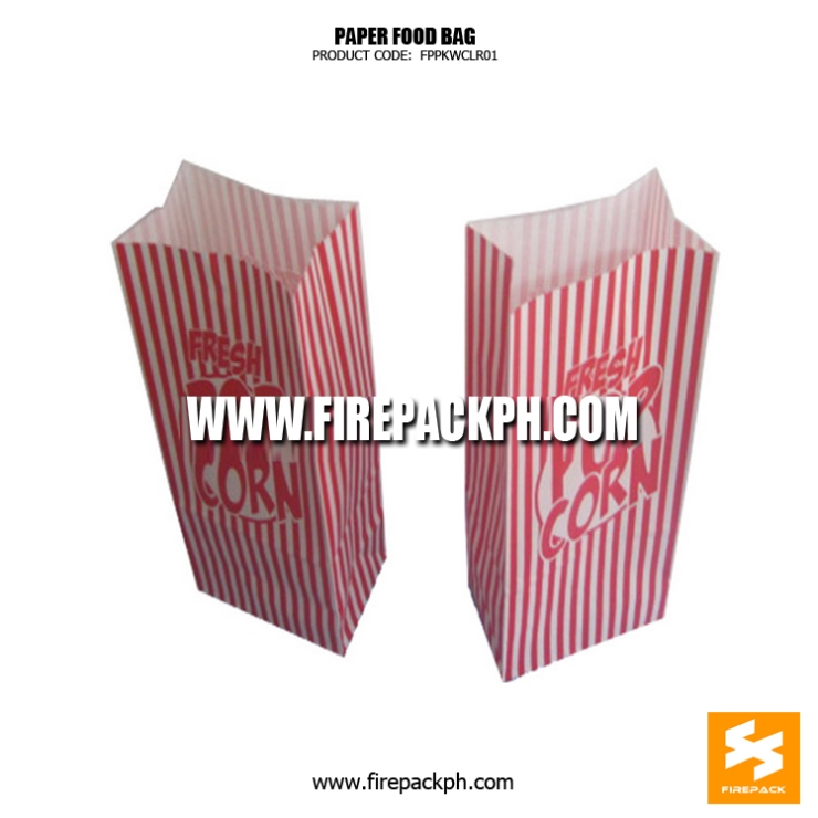 food bag for popcorn maker bacolod davao