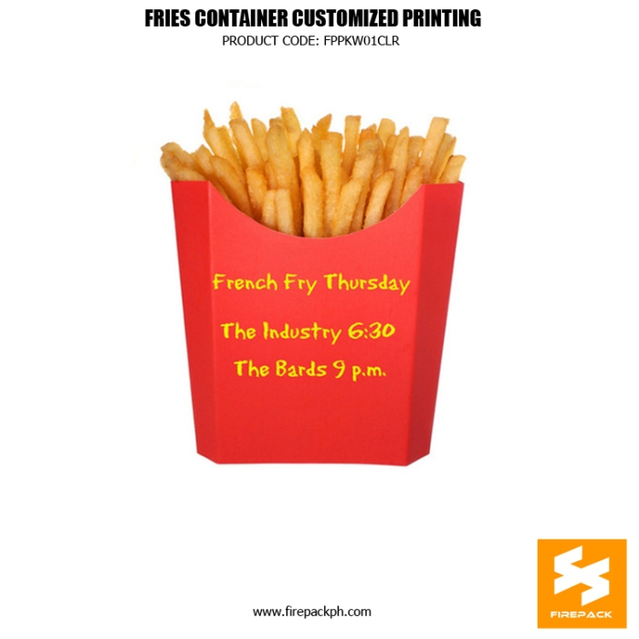 french fries holder supplier manila firepack supplier maker