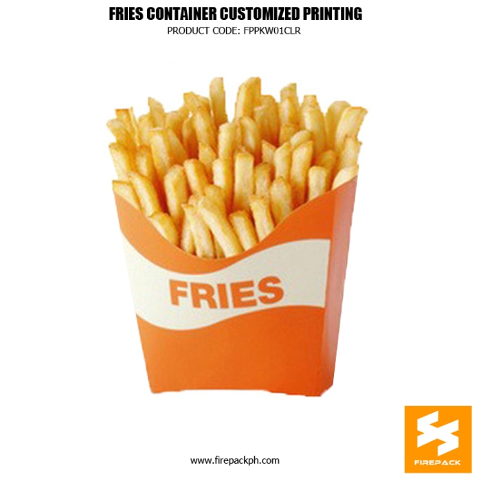 fries contaier supplier fries holder supplier manila firepack cebu supplier