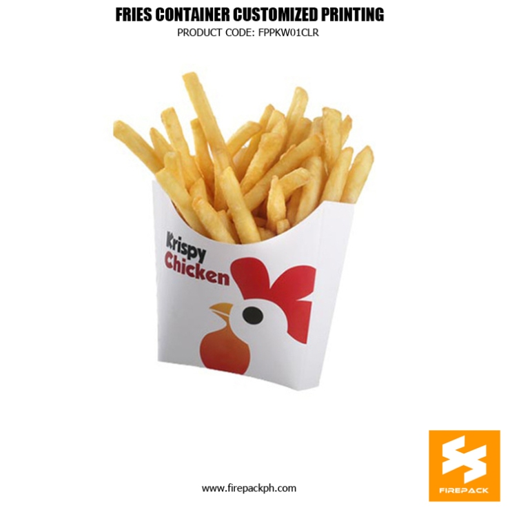 fries contaier supplier fries holder supplier manila firepack