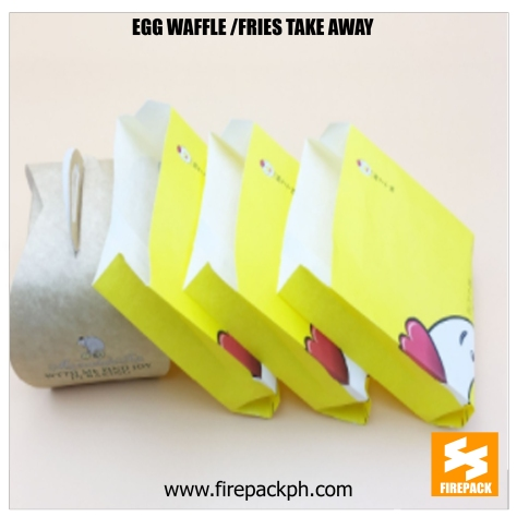 fries paper wrapper take away supplier