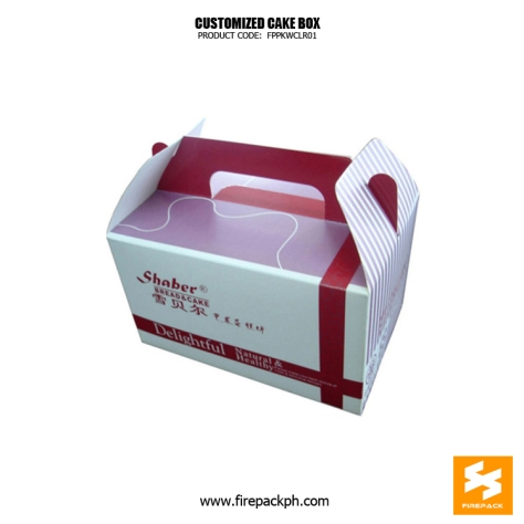 gable box for cake supplier maker