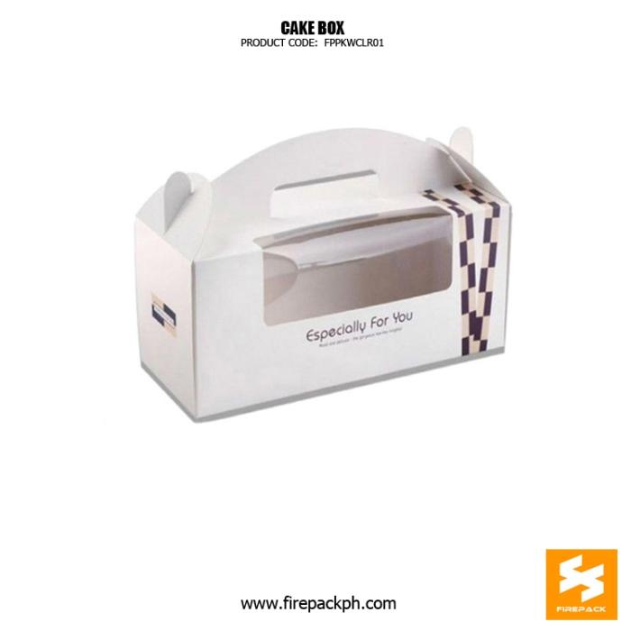 gable box white for cake box cake box maker