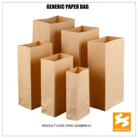 generic brown paper bag supplier cebu