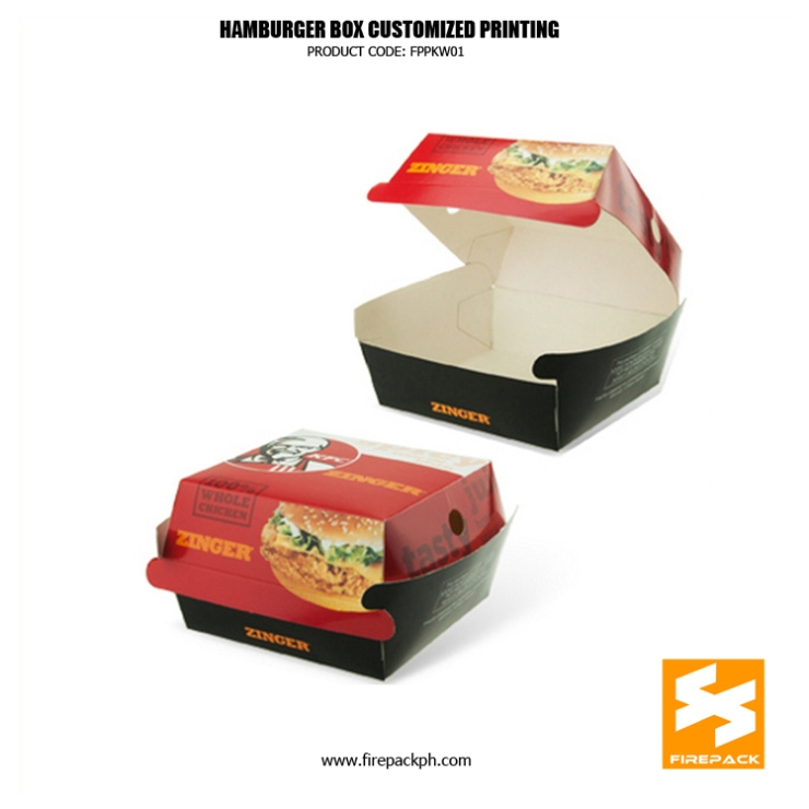 hamburger box maker manila firepack