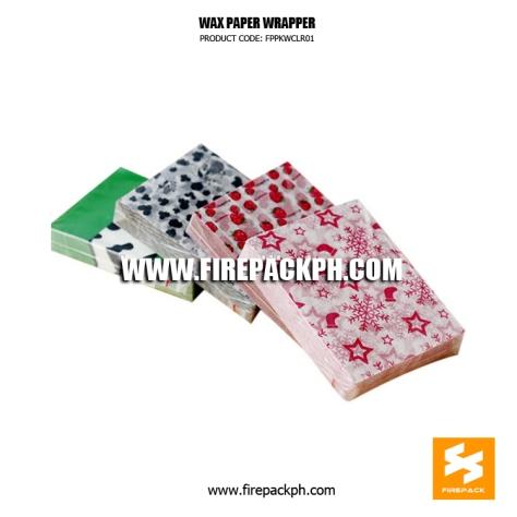 hamburger wrapper wax paper supplier manila