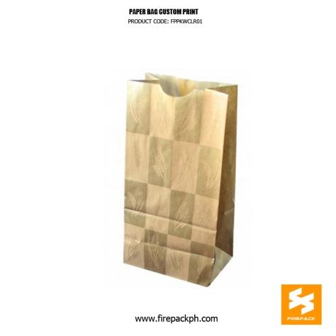 kraft paper bag customized printing supplier manila