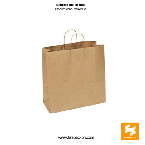 kraft paper bag supplier cebu davao