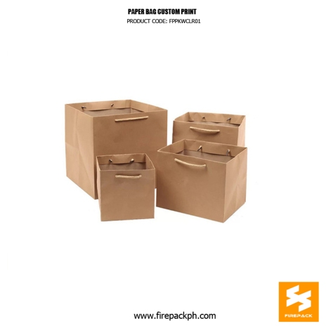 kraft paper bag supplier manila firepack
