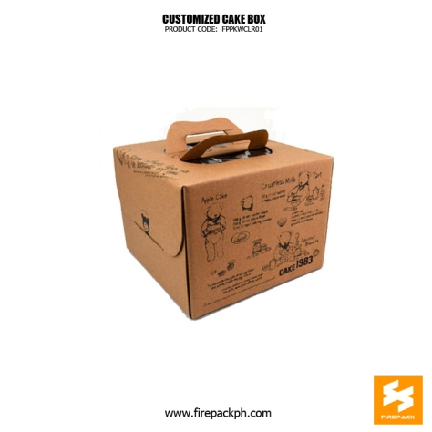 kraft paper box cake box supplier manila cebu
