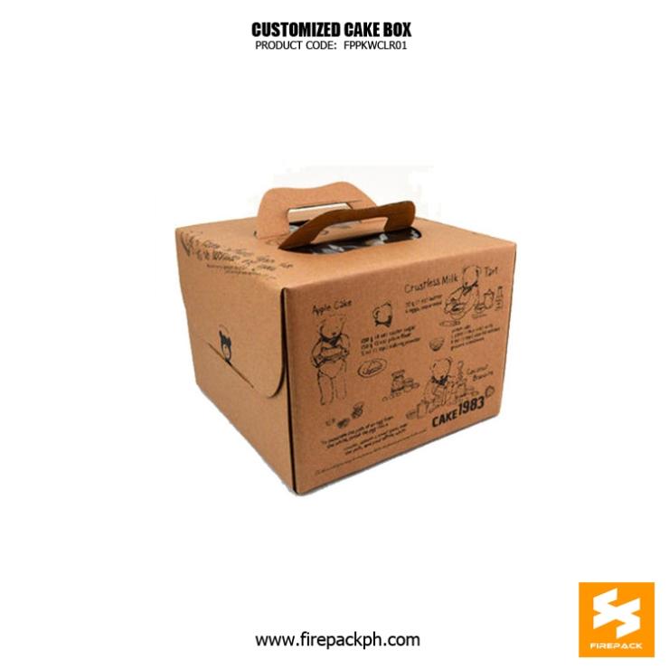 kraft paper box cake box supplier manila cebu
