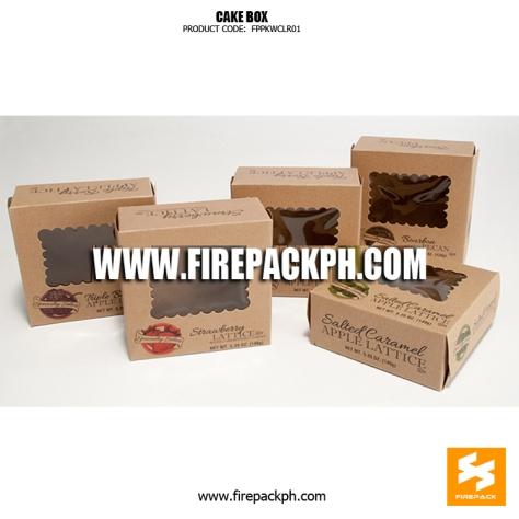 kraft paper cake box supplier cebu