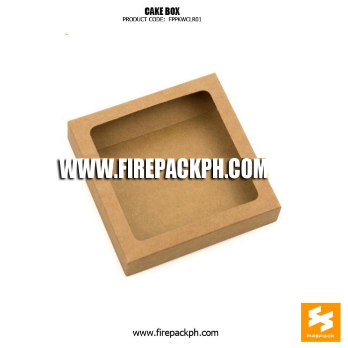kraft paper cake box supplier manila
