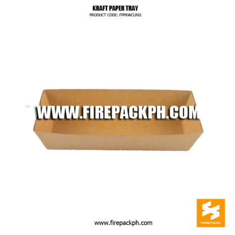 kraft paper paper tray