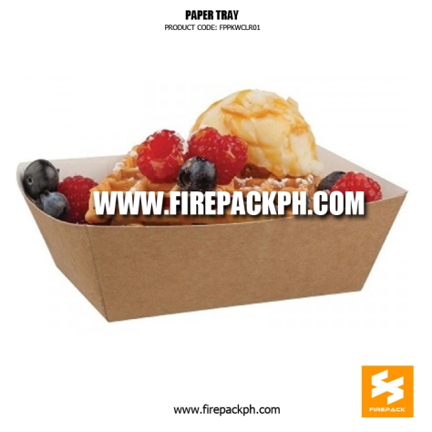 kraft paper tray supplier manila firepack