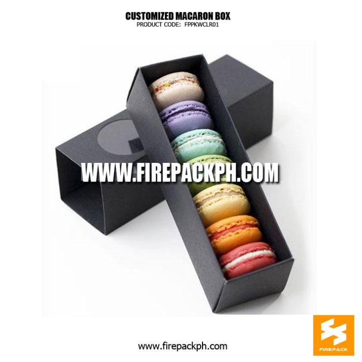 macaron box 7pcs box maker manila custom print box
