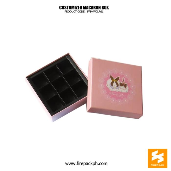 macaron box 9 pcs design box maker manila
