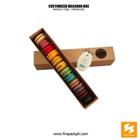 macaron box maker davao supplier