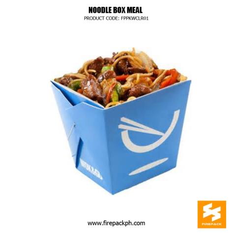 noodle box blue color supplier manila