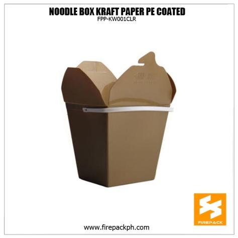 noodle box brown kraft paper firepack supplier manila supplier cebu