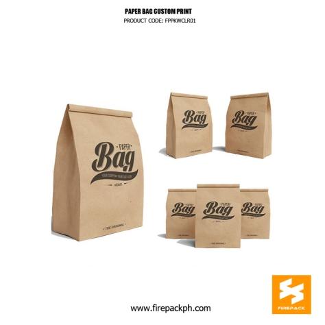 paper bag supplier brown kraft