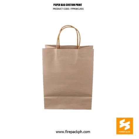 paper bag supplier cebu custom print firepack