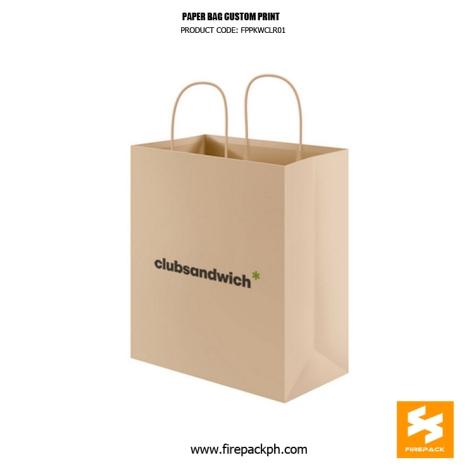 paper bag supplier cebu custom print