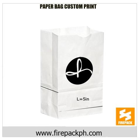 paper bag supplier custom print supplier firepack