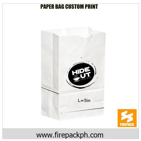 paper bag supplier custom print supplier