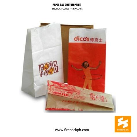 paper bag supplier custom print