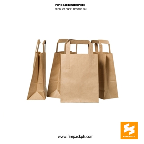 paper bag supplier with print firepack