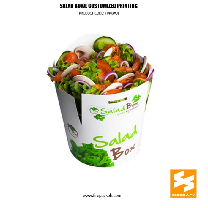 paper bowl customized printing supplier manila