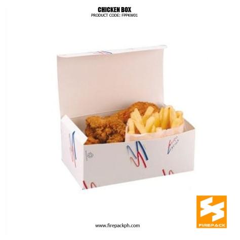 paper box for fried chicken supplier maker manila firepack