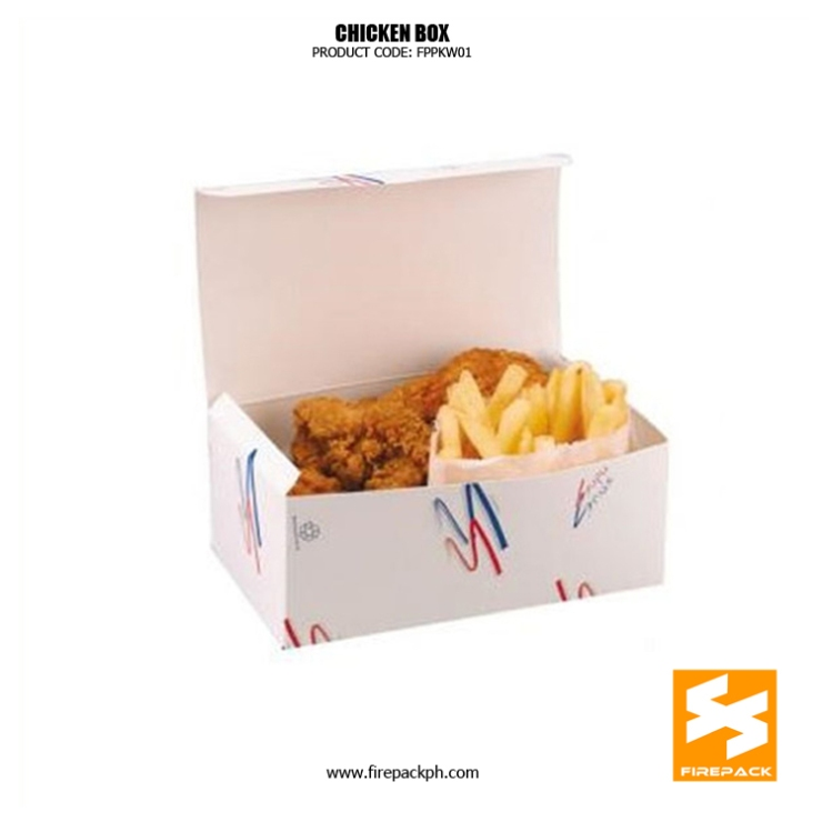 paper box for fried chicken supplier maker manila firepack