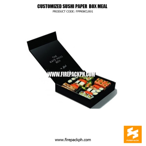 paper box for sushie supplier japan supplier manila firepack