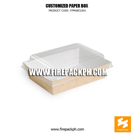 paper box meal supplier manila firepack