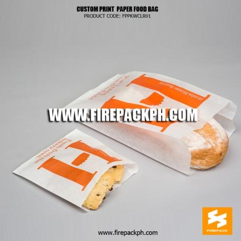 paper bread bag supplier maker manila firepack