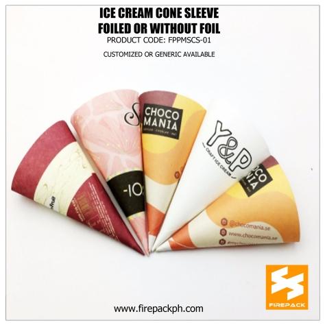 paper cone for ice cream supplier cebu